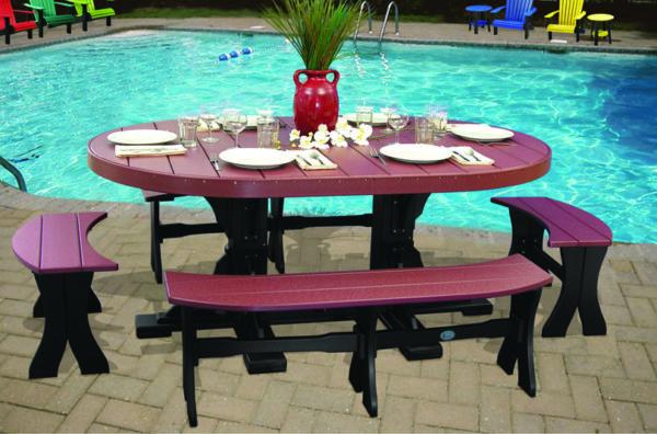 4x6 oval table pool