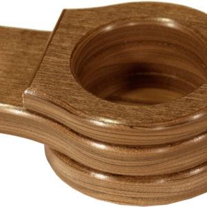 stationary cup holder antique mahogany