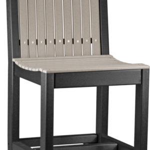 classic bar chair weatherwood black
