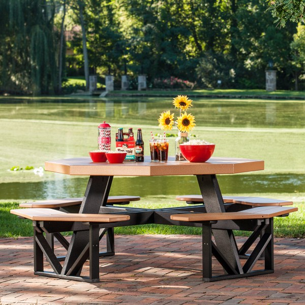 luxcraft poly octagonpicnictable