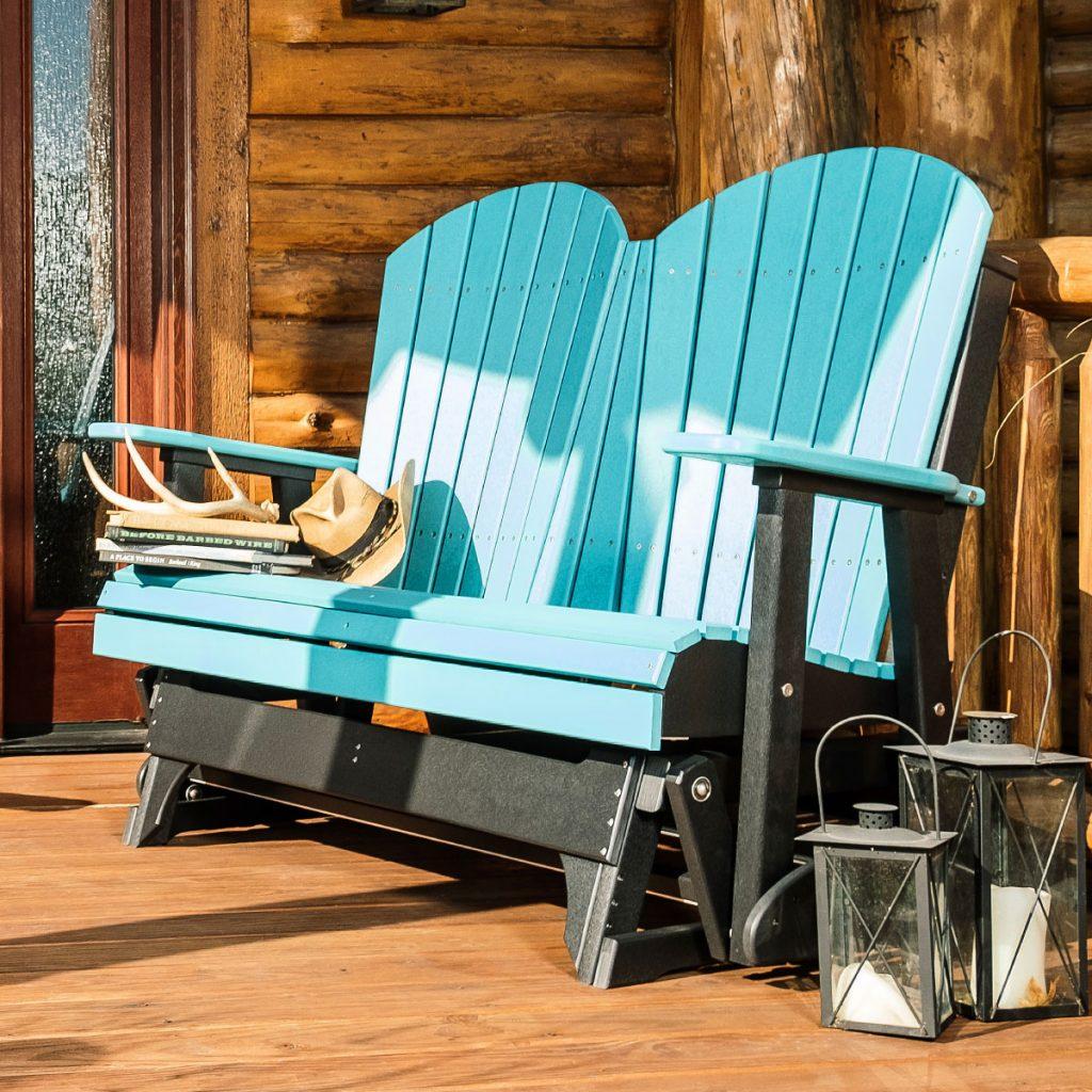 poly glider bench