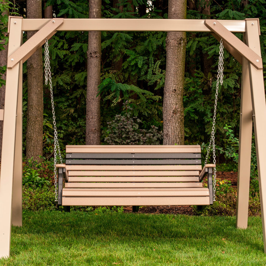 outdoor poly swing