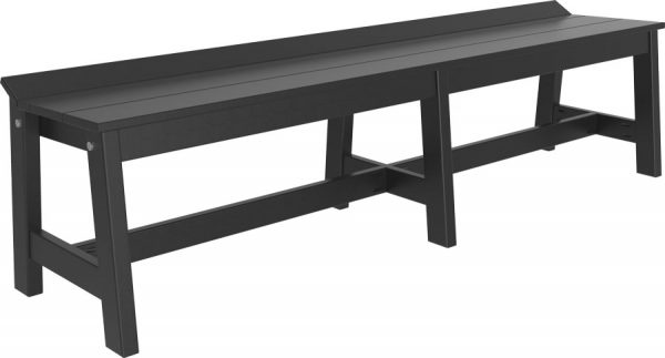 cafe dining bench 72b