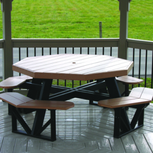 octagon picnic table 1