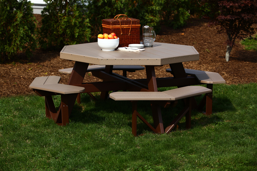 octagon picnic table 4